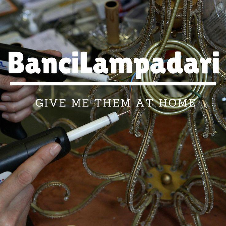 GIVE ME THEM AT HOME #lampadari #firenze #madeinitaly