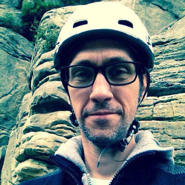 Climbing at Bowles Rocks September 1015