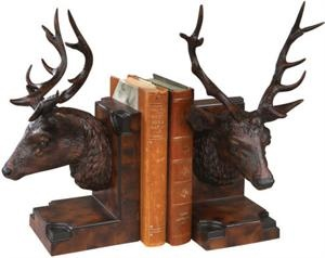 1000 images about deer and big game bookends on pinterest deer long faces and rocks - Deer antler bookends ...