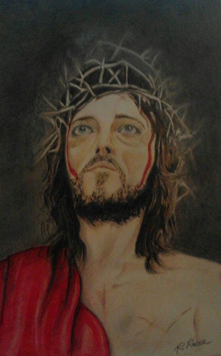 Gesù il Re dei Giudei. Tecnica mista