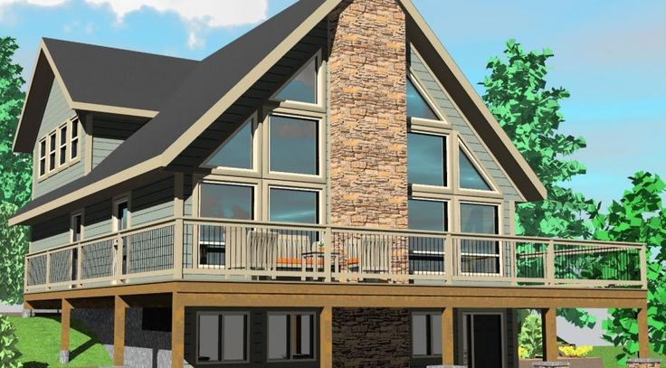 The Sylvan Lake Prefab Cabin And Cottage Plans Winton