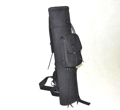 "New 21"" Back Arrows Quiver Bow Package Archery Arrow Waterproof Bag For Hunting in Sporting Goods, Archery, Accessories 