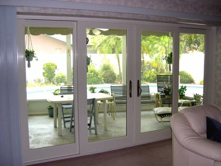 25 best ideas about anderson replacement windows on for Full glass patio door