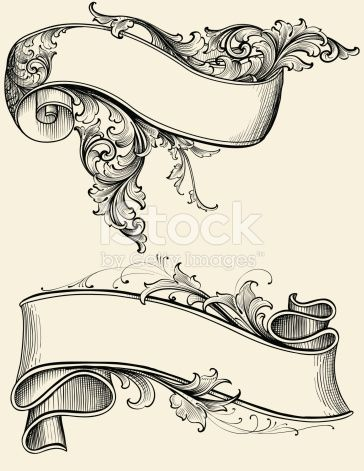 Designed by a hand engraver. Highly detailed engraving design of a shaded ribbon and scroll. Ready for the text of your choice. Change colors or scale easily without loss of quality. Includes AI,...