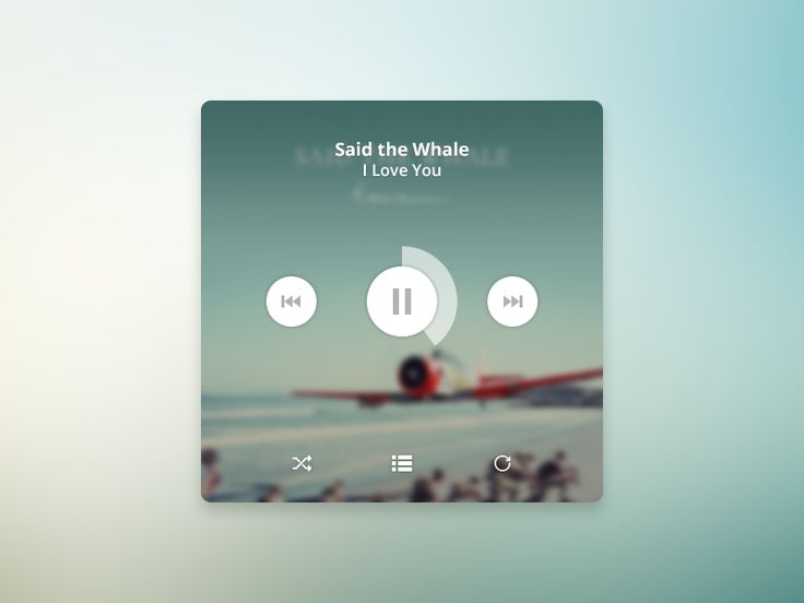 Music Player by Andrii Sydorov