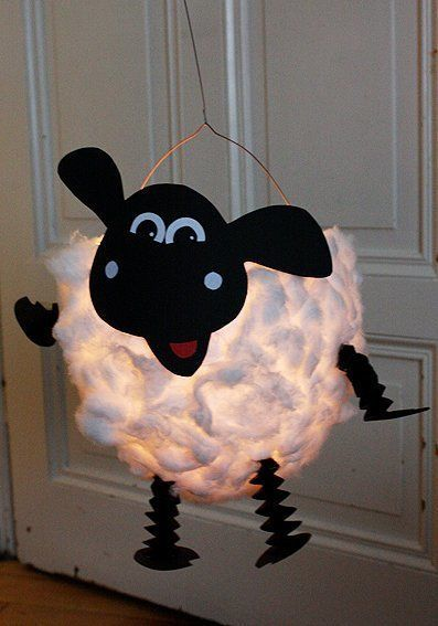 DIY Sheep Lantern: In 3 steps to a beautiful lantern for St. Martin