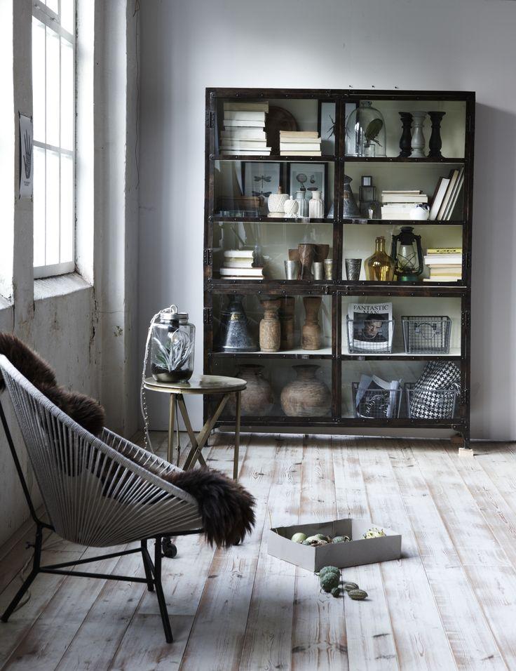 Collector Cabinet en fauteuil Rope.