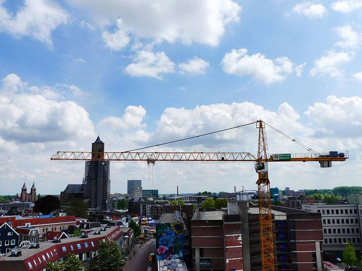 View over #Arnhem the centre feels like one huge construction site!
