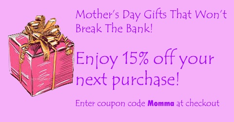 Enter coupon code Momma during checkout: http://www.dannabananas.com/