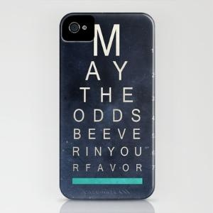 May the odds be ever in your favor. yes.: James Of Arci, Iphone Cases, Favors Negative, Ryan James, Hunger Games, Phones Cases, Iphone Covers, Favors Iphone, James Caruth