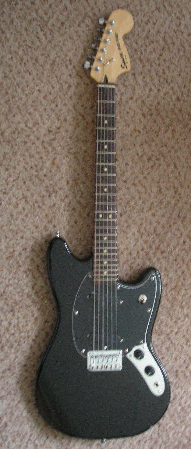 Fender Squier Bullet Mustang Guitar With MIM Alnico Pickups