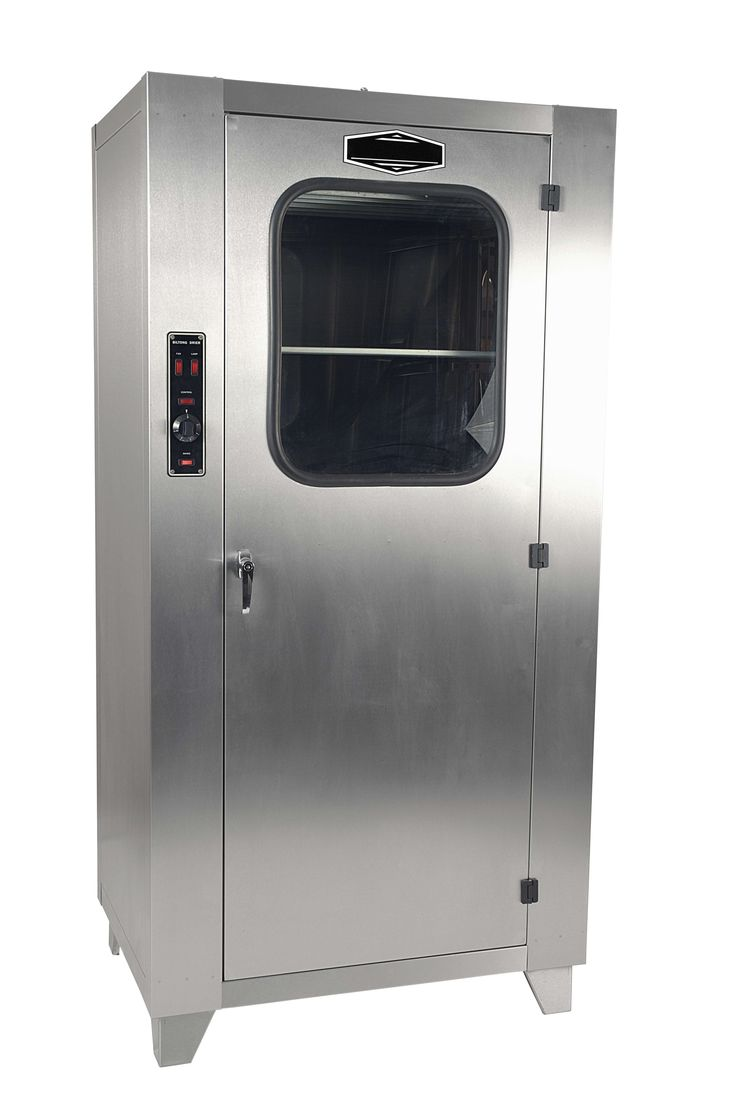 The IDC-120 Industrial Biltong Drying Cabinet  takes 100 kg of wet meat which dries in 3-4 days.