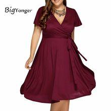 Summer dress 2017 Макси красные платья 4 цвета v шеи женщины платья плюс размер 6l долго 6xl женщины dress with belt(China (Mainland))