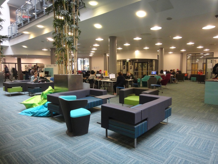 Library/Fountains Learning Centre - Fully renovated in 2011, Fountains has a new, technology rich social learning environment across all three floors of the building with improved resource availability and enhanced services.