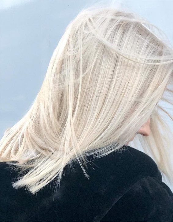 Stunning Off White Blonde Highlights For Girls Hair Colors