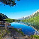 Il lago di Anterselva circondato da montagne | Hotel & Spa Alpenresidenz Anterselva | Alto Adige