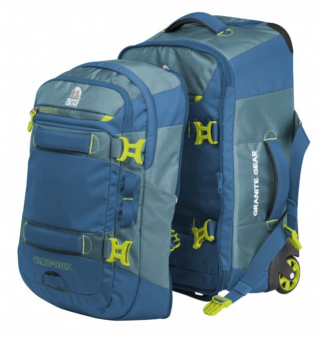 """USA Today Road Warrior named the Granite Gear Cross Trek 22"""" one of the coolest carry-on bags because of its 3-in-1 capabilities as a backpack, duffel and rolling suitcase. SHOP NOW and save 20% with the coupon code HOLIDAY20.   """"Granite Gear's Cross-Trek 22"""" Wheeled Carry On ($189.99) suits both the business and adventure traveler, essentially a rolling duffel with shoulder and hip straps complete with a removable load-stabilizing backpack. Those with a habit of treating their luggage like…"""