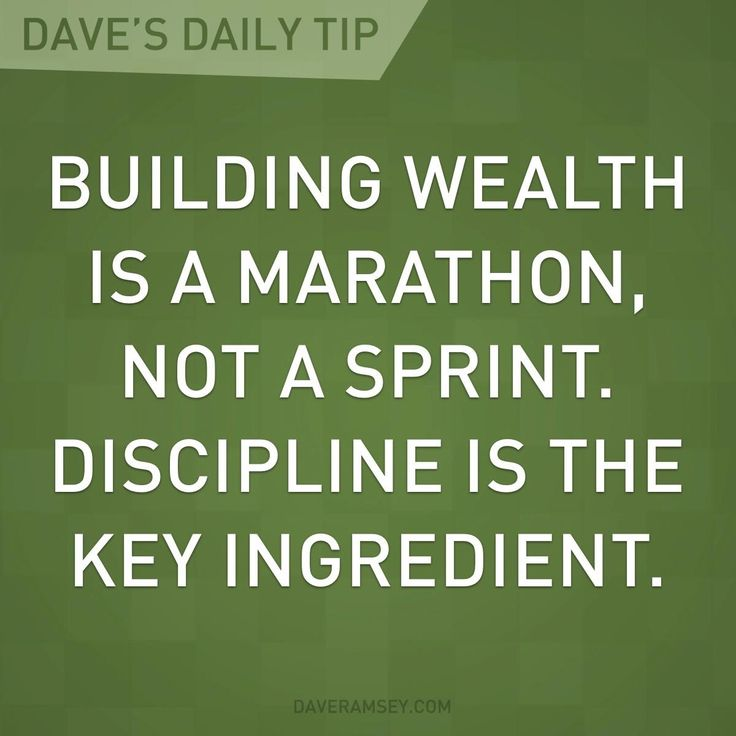 Having self discipline is very important when it comes to making investments and building wealth. The more you save now, the more you'll have in the future.