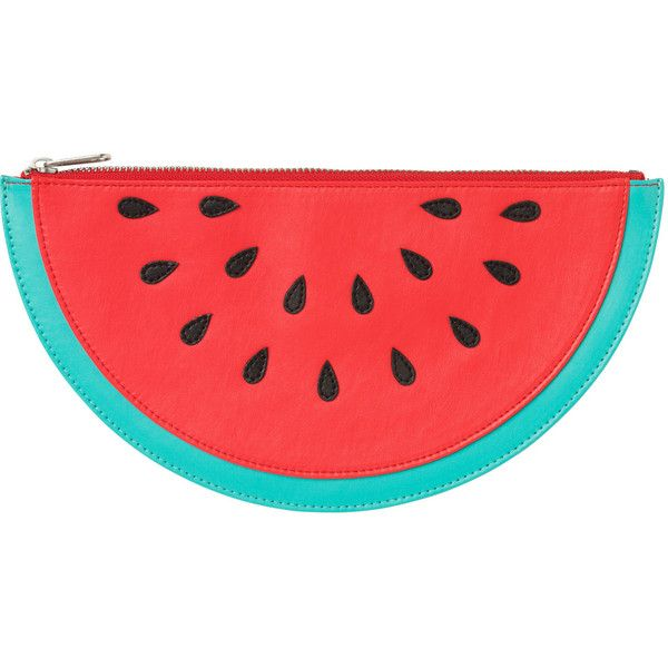 Fruit Bag (190 MXN) ❤ liked on Polyvore featuring bags, handbags, clutches, accessories, purses, fillers, multi color handbag, colorful handbags, multicolor handbags y red clutches