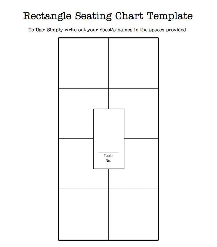 7 Free Wedding Templates To Help You Seat Your Guests