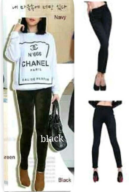 Legging bludru hitam @44rb Bhn bludru, fit all size, seri 2pcs, ready 4mgg ¤ Order By : BB : 2951A21E CALL : 081234284739 SMS : 082245025275 WA : 089662165803 ¤ Check Collection @ : FB : Vanice Cloething Twitter : @VaniceCloething Instagram : Vanice Cloe