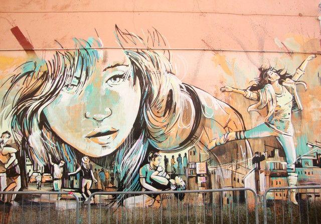 StreetArt Rome - Alice Pasquini - Circolo degli Artisti - Pigneto