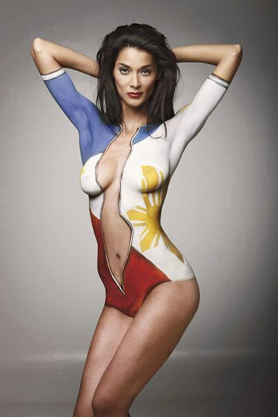 how to set body paint