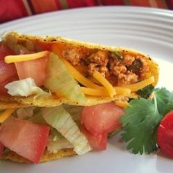 "Tofu Tacos | ""If you freeze, thaw, and dry the tofu in a 200° F oven before soaking and cooking it, it acquires a meat-like chewy texture."" —Brother William 