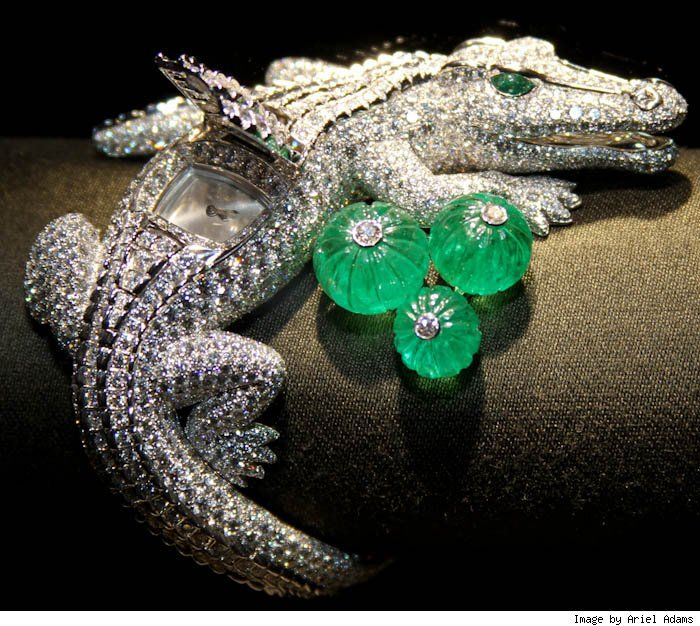 2011 Cartier jewelry watches, inspiren in the María Felix jewels