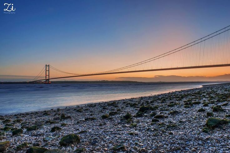 The Humber Bridge, Linking Yorkshire with Lincolnshire