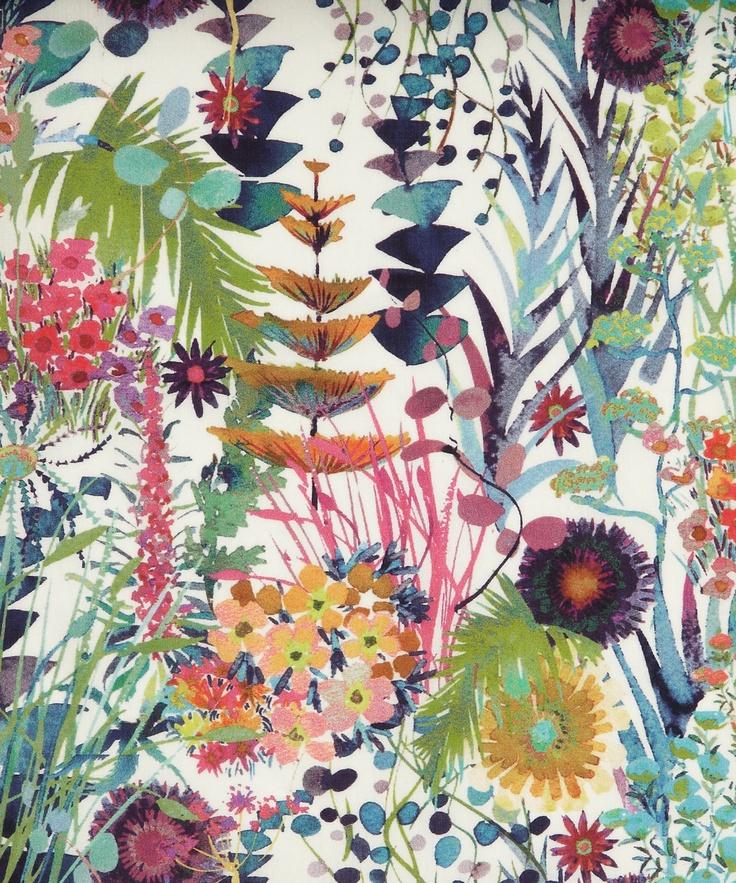 Tresco C Tana Lawn. Liberty Art Fabrics.  SS/2013.