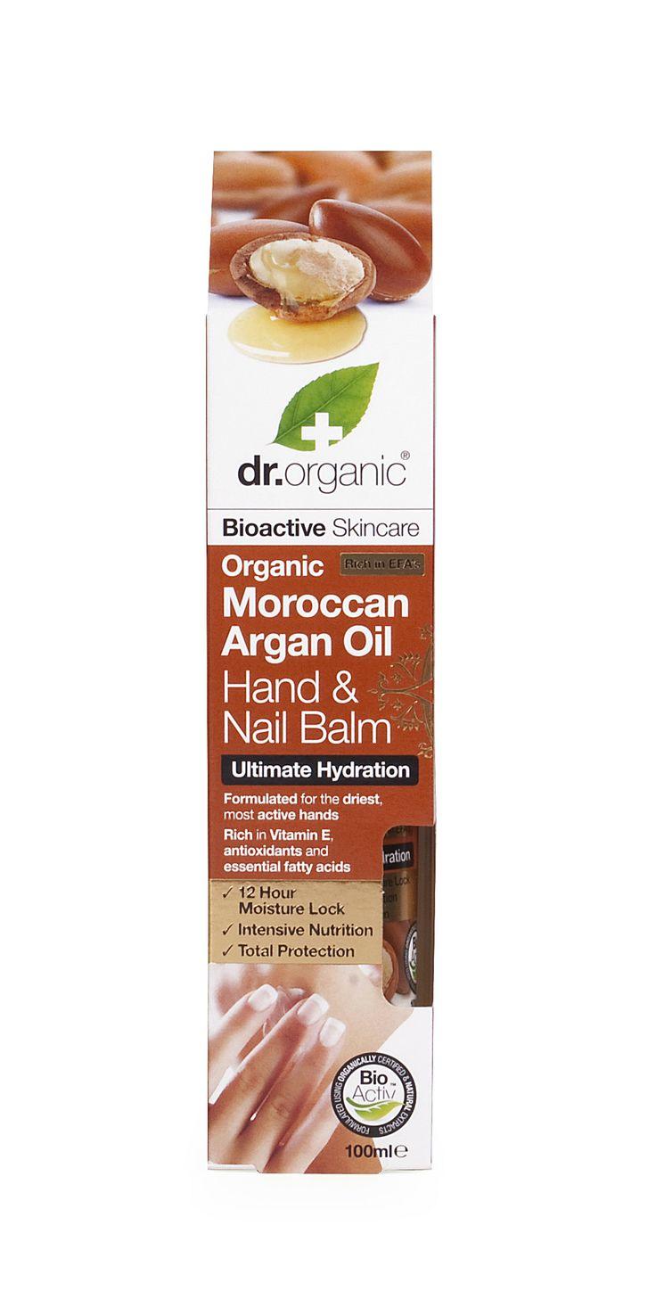 Hand & Nail Balm - Balsamo Mani e Unghie - Dr. Organic