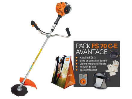 360 best images about jardinage on pinterest manche sons and merlin 2 - Debroussailleuse stihl fs 70 ...