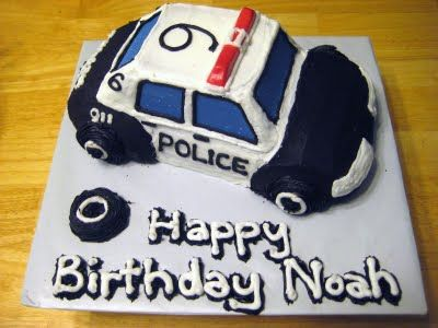 The Cake Cow: Police Car