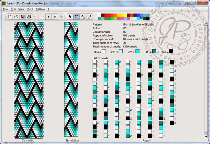 Вязаный жгут Комплектик схема на 15 | biser.info - всё о бисере и бисерном творчестве