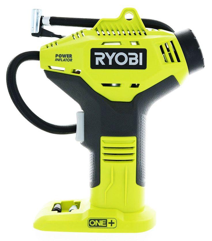 Ryobi 18v cordless portable air compressor half wall glass shower enclosure