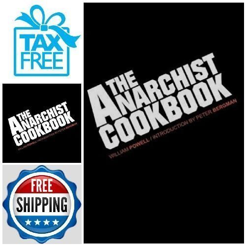 The Anarchist Cookbook-Memories of good old days-FREE FAST SHIPPING #Doesnotapply