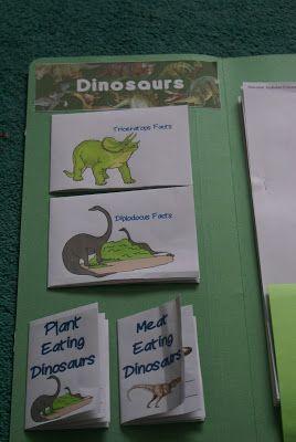 Practically Penniless: Dinosaur lapbook