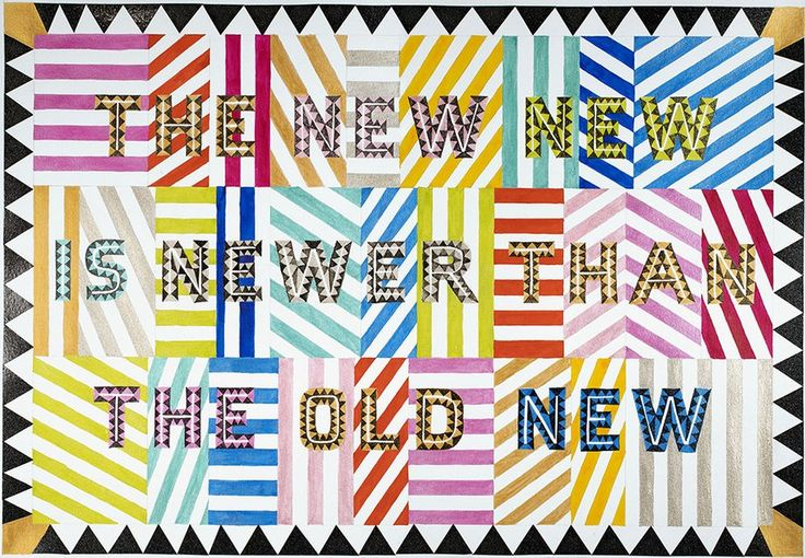 Marian Bantjes - The New New, Work on Paper