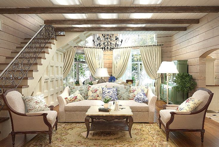 Красивые интерьеры деревянных домов : Интерьер : Дом : Subscribe.Ru