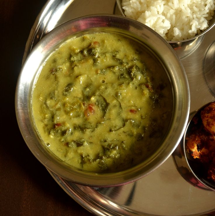 Kerala Style 'Cheera Kootan', definitely a comfort meal and loaded with proteins & calcium :)