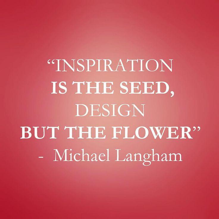 Design wisdom for a Tuesday morning....