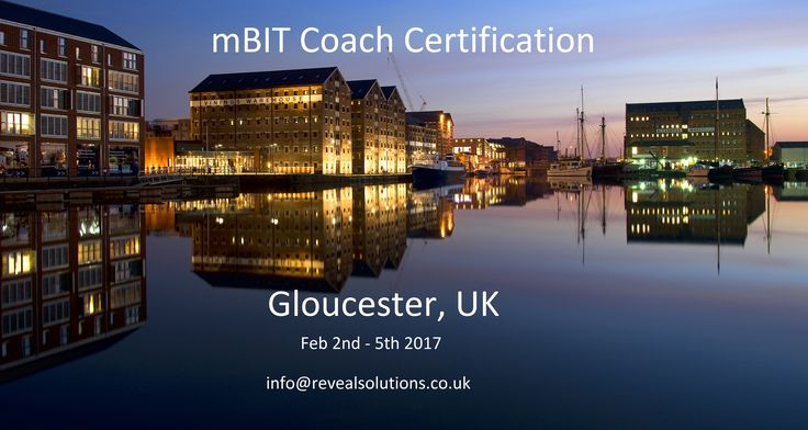 Wisdom as they say comes from multiple perspectives, so if you would like a bit of that look at our course schedules for the next mBIT training where you are