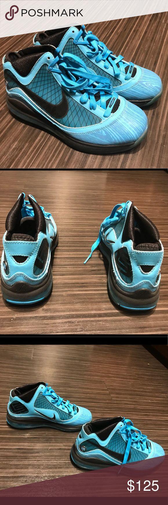 Air Max Lebron 7 'All Star' Chlorine Blue/ Black- Copa Nike Shoes Sneakers
