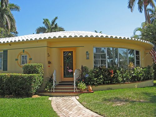Art Deco Hollywood Lakes Area Home Florida 133 By Ron