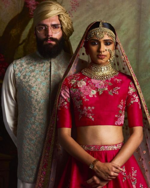 Sabyasachi Mukherjee 'Mughal Garden' Collection