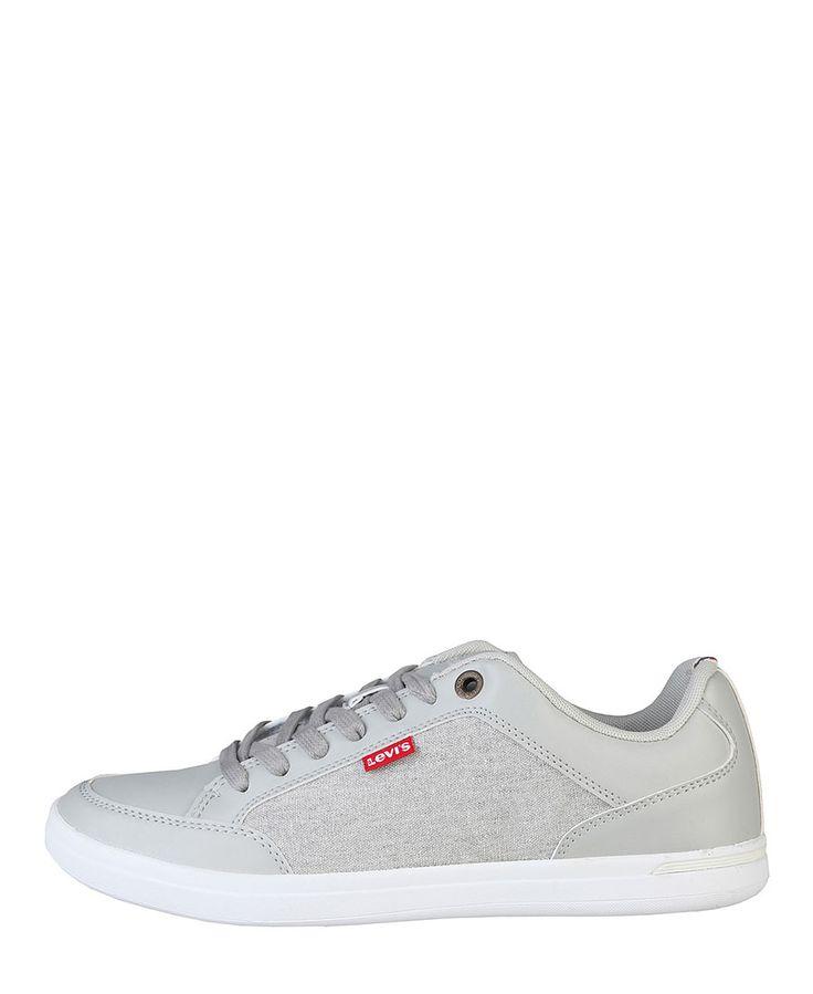 Levi's scarpe - sneakers uomo - tomaia: tessuto e materiale sintetico - interno: tessuto - suola: gomma - Sneaker uomo Grigio