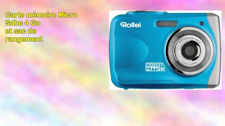 nice Rollei Sportsline 60 Appareil photo waterproof jaune 2