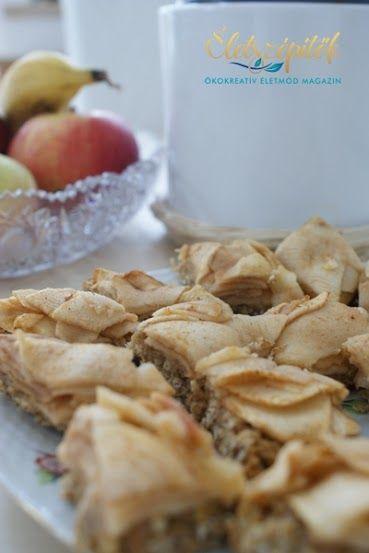 Zabpelyhes almás szelet