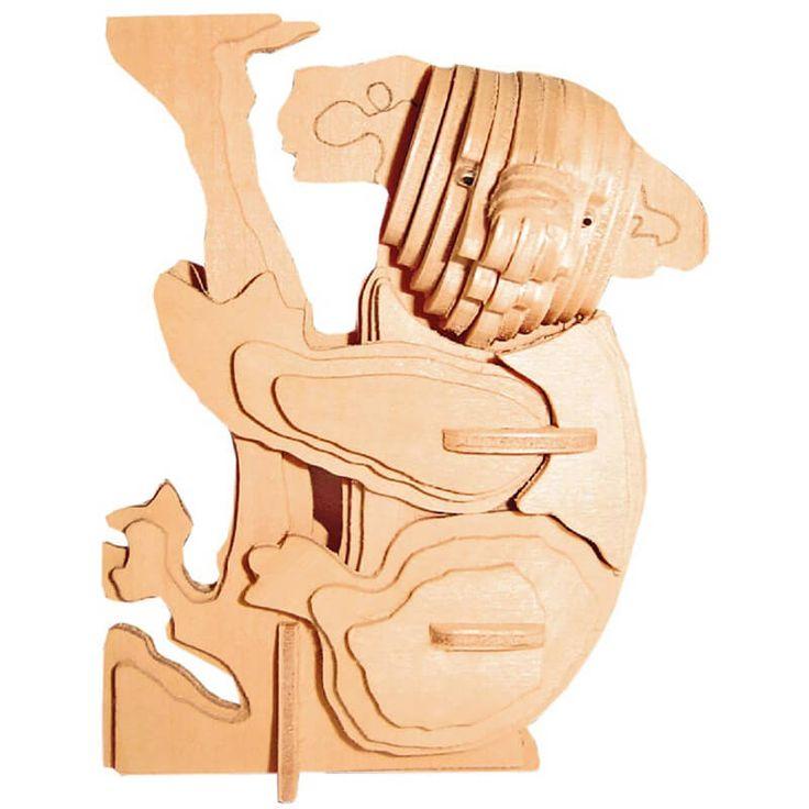 Dierendag knutselen: FSC houten bouwpakket koala